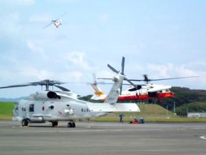 館山ヘリフェス展示飛行