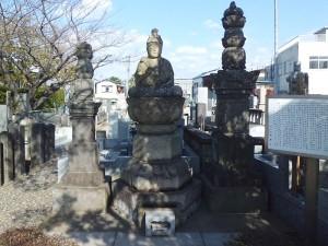 保科正重と母の墓
