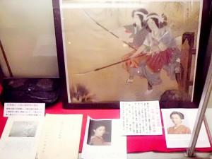 新撰組記念館中野姉妹の図