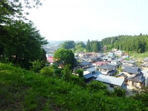 江戸街道小丸山方面