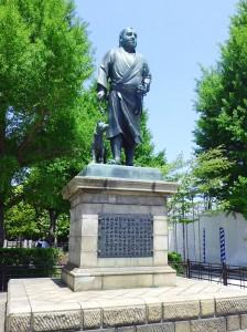 上野西郷隆盛像
