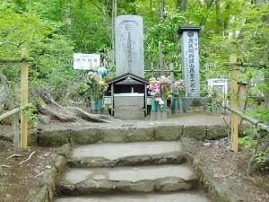 会津近藤勇の墓