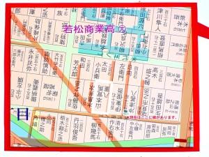 山本家周辺古地図詳細