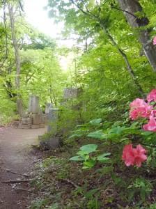 萱野家の墓所