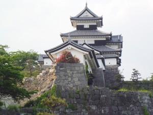 白河小峰城祉の石垣