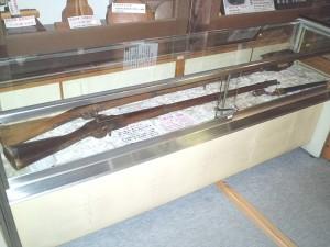 管打ち式ゲベール銃