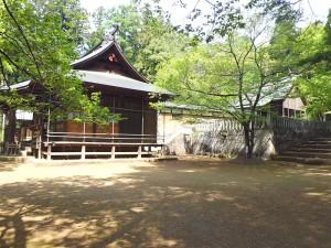 土津神社回廊