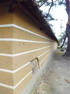 長命寺築地壁