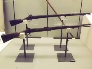 ミニエー銃とゲベール銃