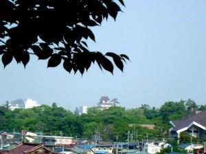 小田山からの鶴ヶ城