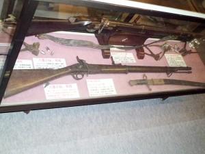 エンフィールド銃とウィルソ
