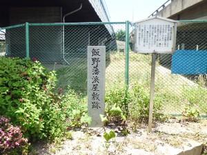 飯野藩浜屋敷跡