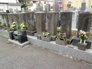 伊庭家の墓