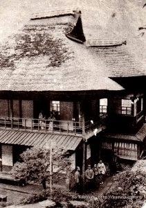 箱根堂ヶ島温泉近江屋旅館建物