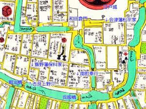 元禄江戸城周辺