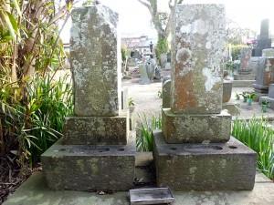 福井小左衛門と楯石作之丞墓
