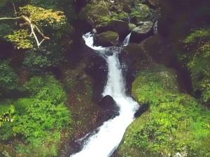 堂ヶ島渓谷の小瀧の白糸