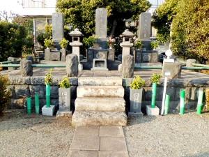 江原素六の墓所
