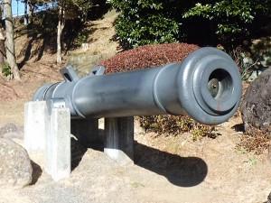 鋳鉄製24ポンドカノン砲口