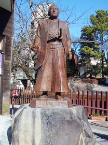 江川坦庵像