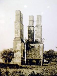 明治の補修前の反射炉