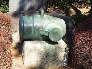 青銅製二十九拇臼砲