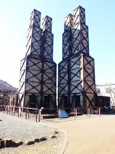連双二基4炉の韮山反射炉