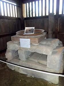 江川邸の兵糧パン焼き釜