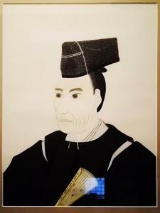 江川太郎左衛門英龍担庵肖像