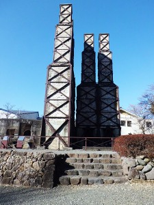 現在の韮山反射炉