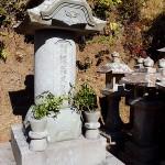 38代江川英武の墓