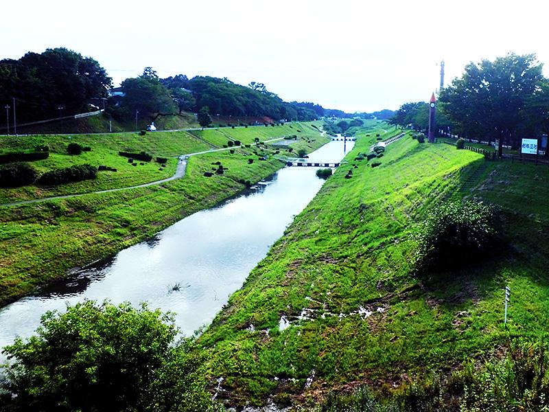 利根運河 ▲利根運河(とねうんが) 明治23年、利根川と江戸川を結ぶ全長8.4K... ちば遺産