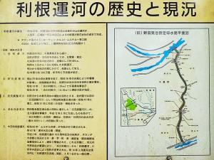 利根運河の歴史と現況