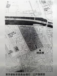 講武所の江戸復原図