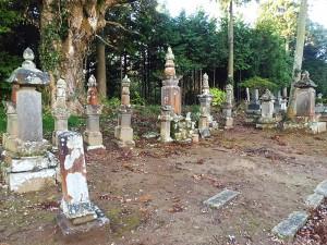 請西藩林家祖先の墓域