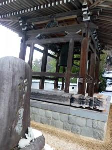 廣澤寺の鐘楼堂