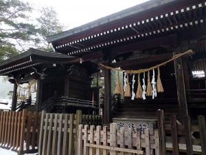 千鹿頭神社の社殿