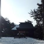 千鹿頭神社御柱