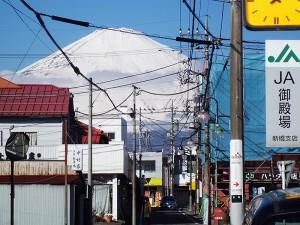 2御殿場と富士山