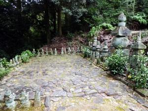 松平一族と家臣の墓