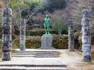 松平親氏の銅像