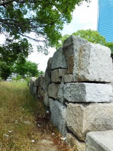 大坂城の京橋口定番下屋敷跡