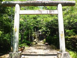祥雲寺の八幡神社