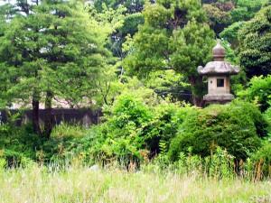 小久保藩主邸の庭園跡