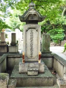大阪一心寺の林籐四郎墓