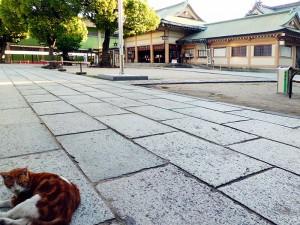 生国魂神社拝殿
