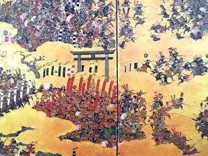 大阪夏の陣図屏風天王寺の戦い