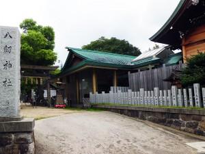 上杉景勝陣八劔神社