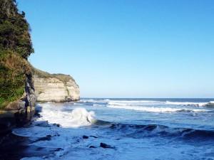 御宿岩和田田尻海岸のドンロドリゴ上陸地