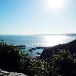 御宿の海網代湾の岩和田漁港